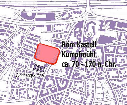 Karte Regensburg Altstadt.Pfarrei St Wolfgang Regensburg Geschichte Kumpfmuhls
